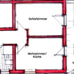 Plan Wohnung 2-3 Per